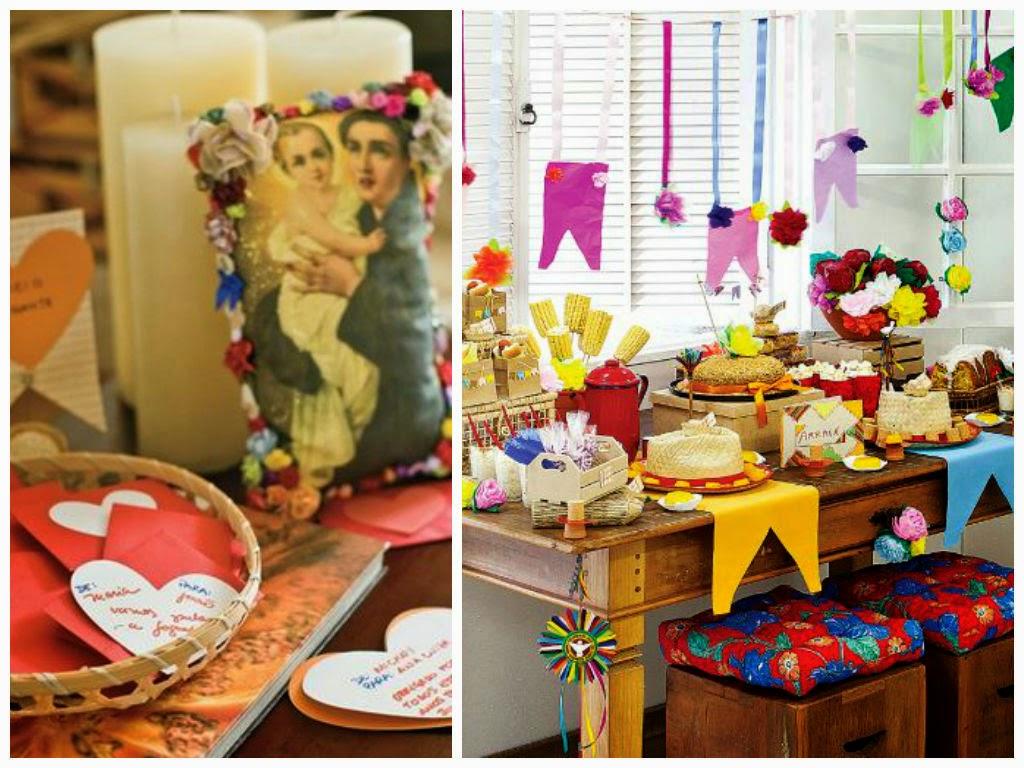 Junina inspiração para decoração de festa temática, festa de
