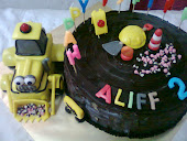 3D Backhoe/scoop cake