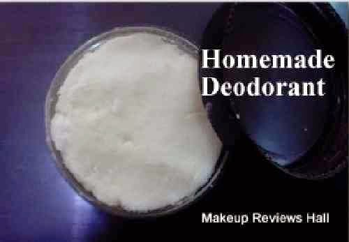 Homemade Deodorant for Lasting Freshness