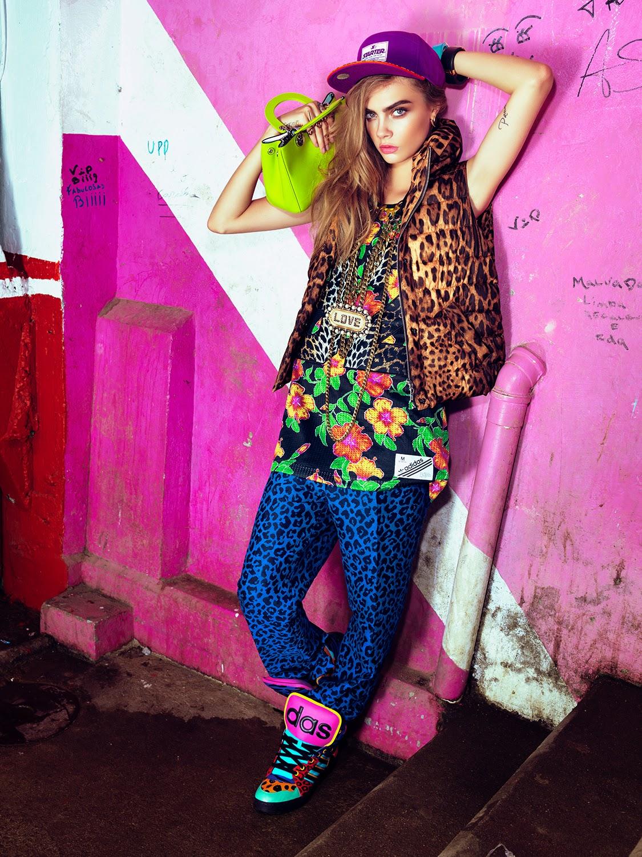 Cara Delevingne Vogue Brazil Magazine February