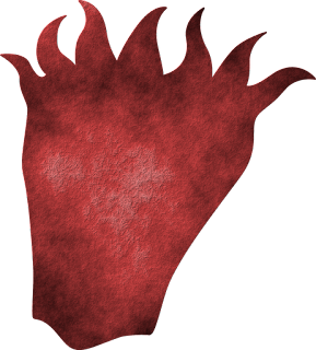 Textured Demon Head