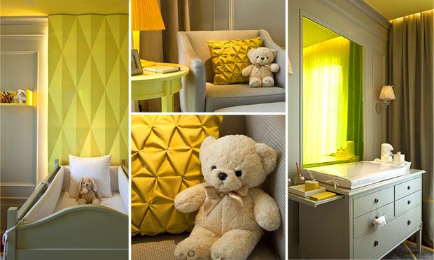 decoracao de quarto de bebe azul e amarelo:Decoração Quarto para crianças: inspire-se nessas lindas