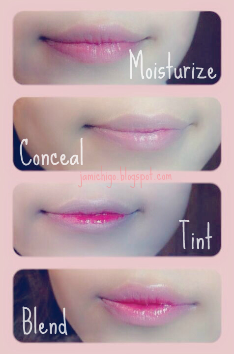 gradient lips tutorial