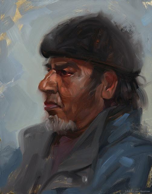Ali by Rob Rey - robreyfineart.com