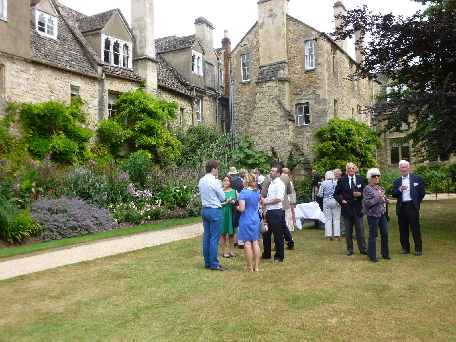 Worcester College Gardeners Gardens Day 2015