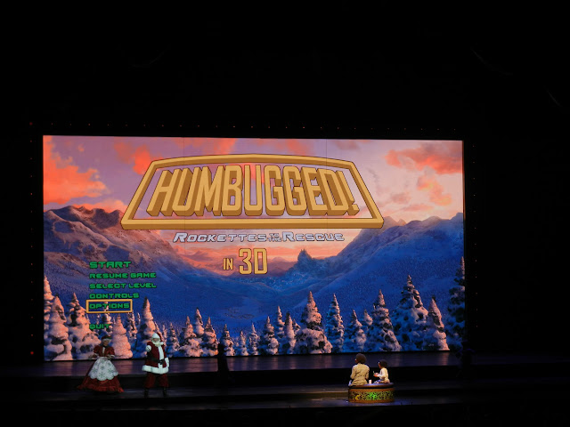 Radio City Rockettes - Christmas Spectacular 2011 - Humbugged in 3D