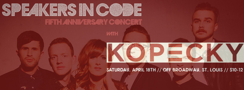 KOPECKY + GEOFF KOCH AT OFF BROADWAY ON APRIL 18TH