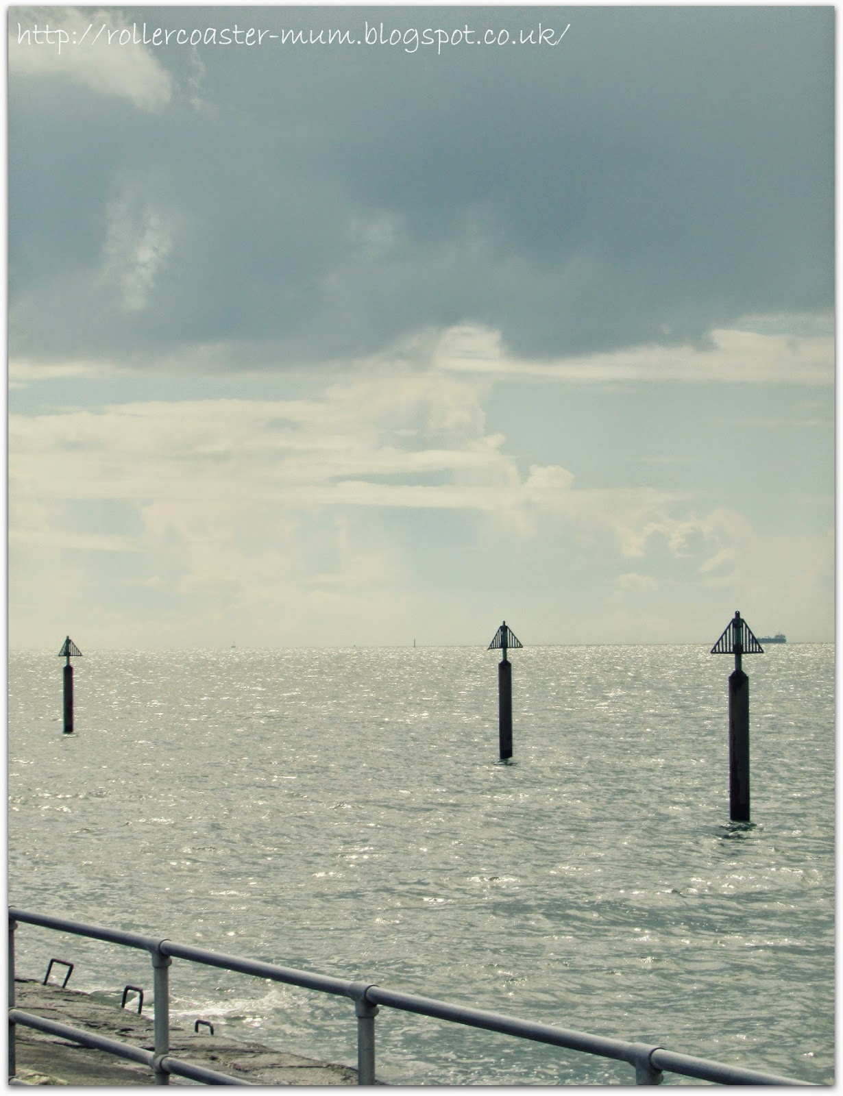 sunshine on the Solent, from Southsea