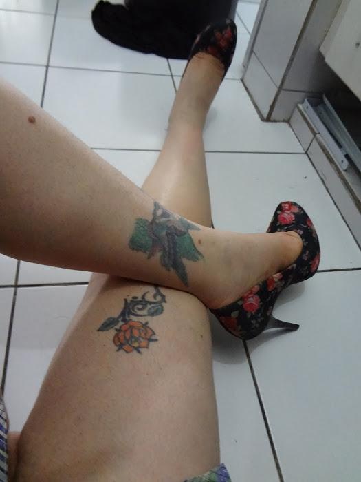 Minhas Pernas Grossas, e Minhas Tatuagens...
