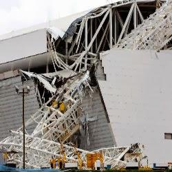 Veja repercussão nas redes sobre acidente no estádio do Corinthians