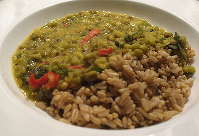 Spicy Mung Beans with Chilies and Fresh Lime Juice