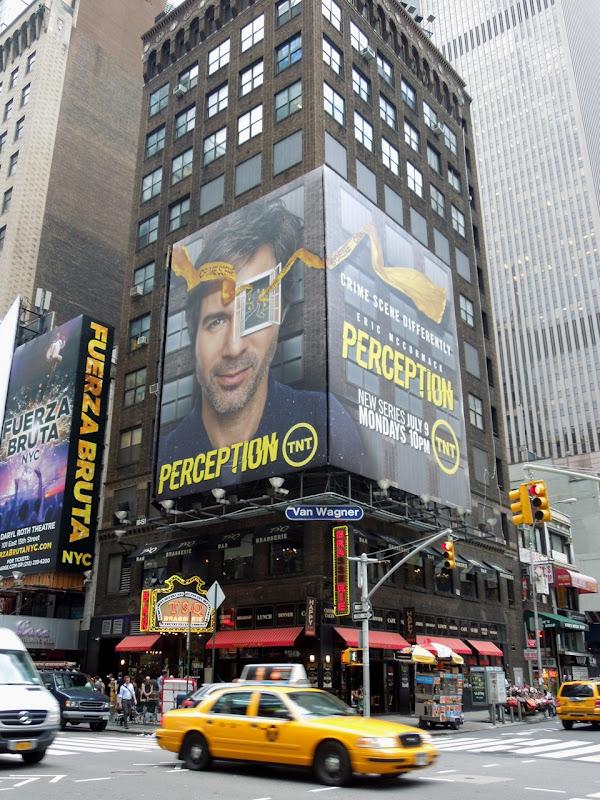 Perception season 1 billboards Times Square NYC