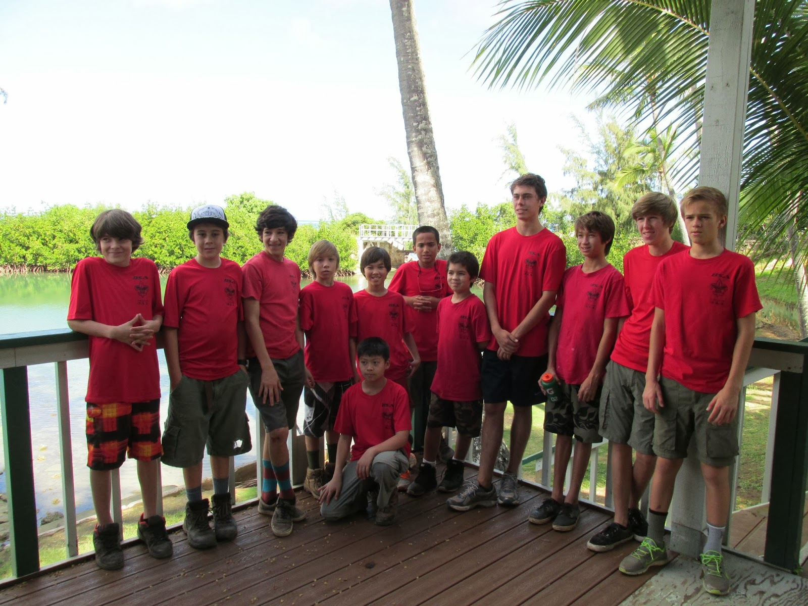 boy+scout+algae+culture+construction+team+122113 Building a Rising Tide in Hawaii