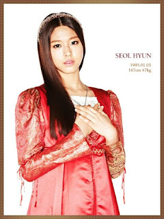 Biodata Kim Seol hyun