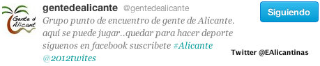 GENTE DE ALICANTE