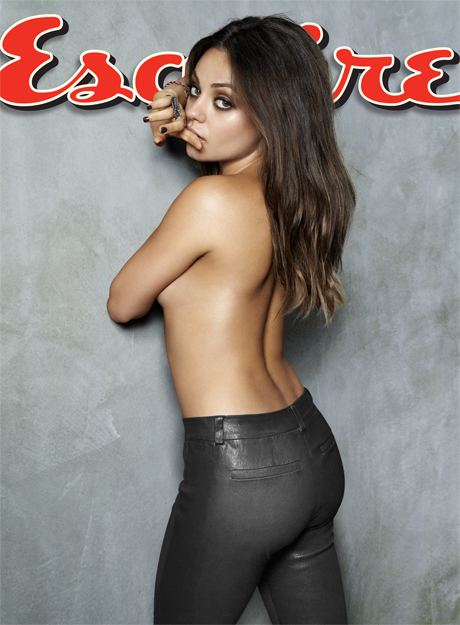 Mila Kunis Sexiest Woman Alive 2012 Cover - Esquire Magazine