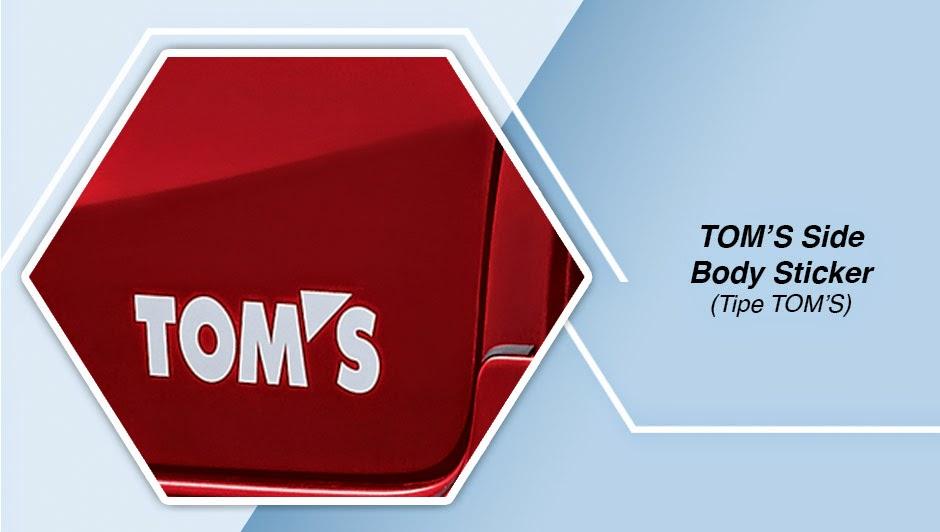 TOM'S EMBLEM etios valco Tom's
