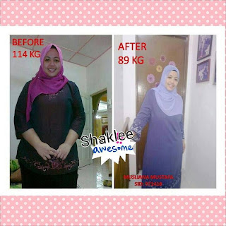 set slimming shaklee