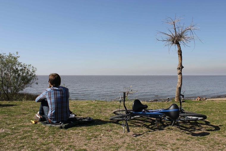 Sykkeltur i naturreservat.