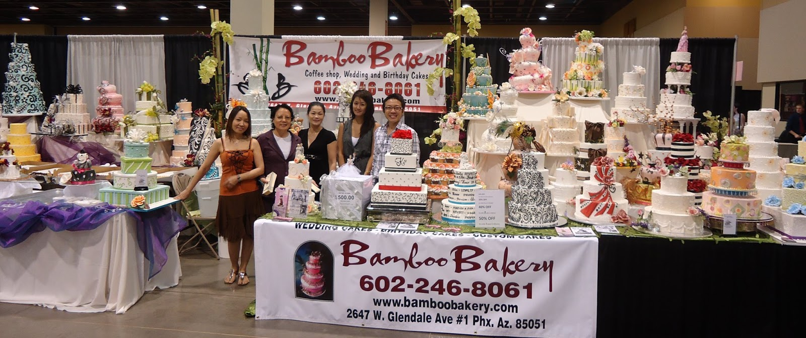 Bamboo Bakery 6022468061 Bamboo Bakery Bridal EXPO Thursday JULY