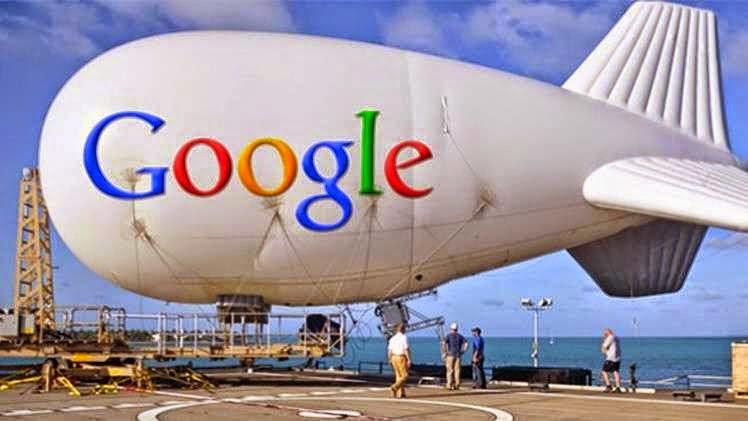 الانترنت الطائر، الانترنت المجاني، internet google بالونات جوجل
