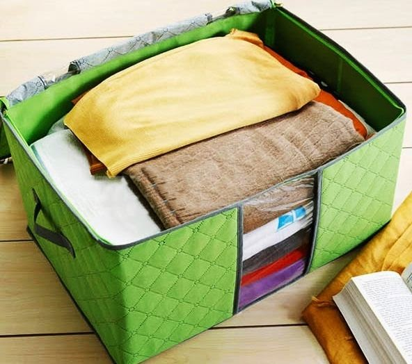 bán buôn túi vải đựng quần áo đa năng mùa đông  rẻ 2