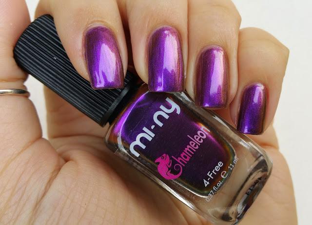 gold violet - Chameleon Mi-Ny 02