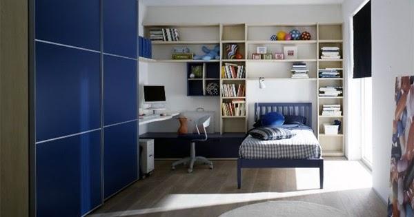 Habitaciones con estilo dormitorios para adolescentes for Cuartos decorados azul