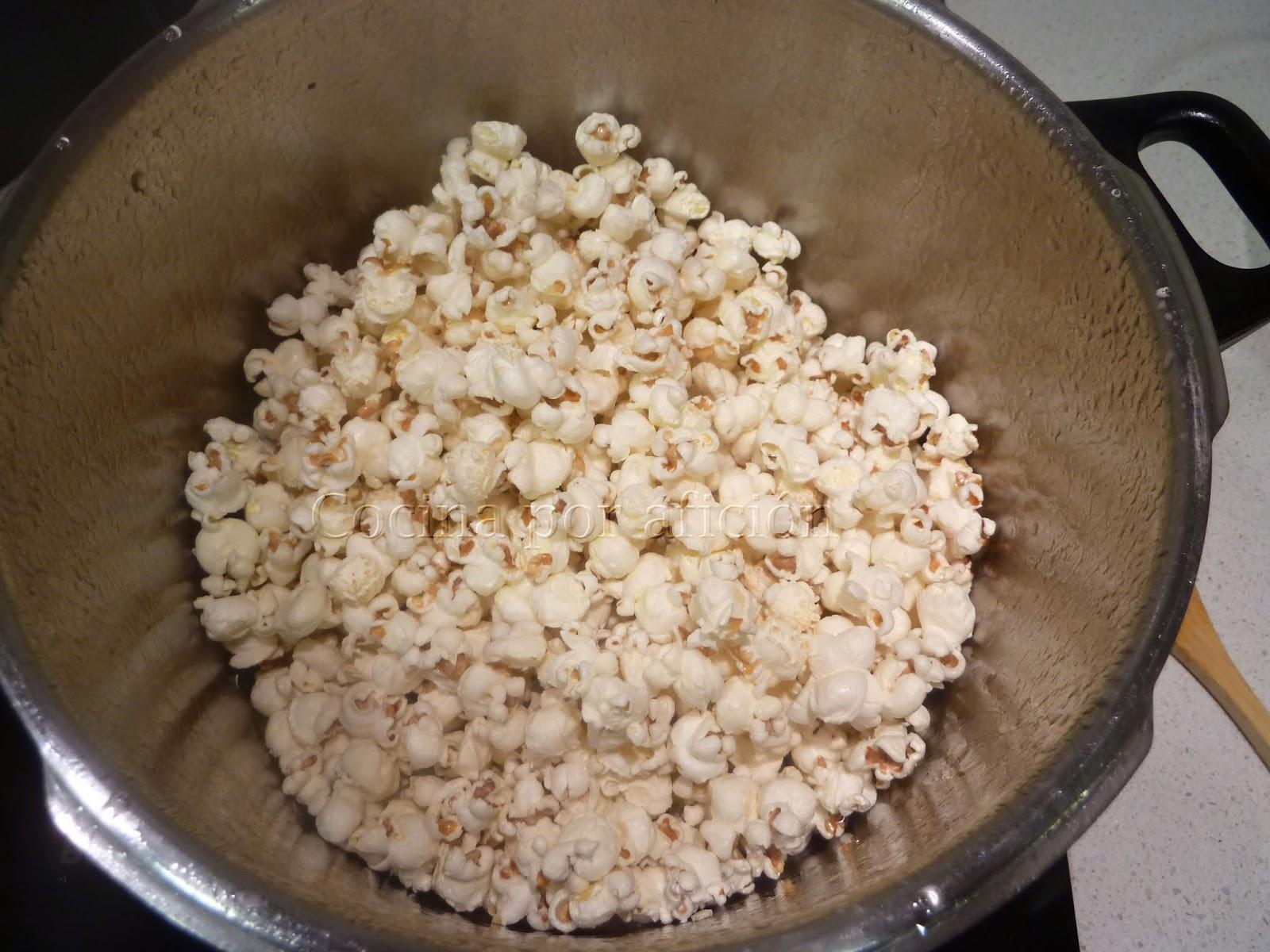 palomitas, maíz
