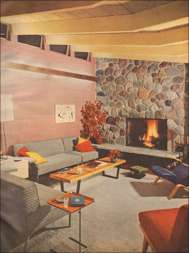 Mid2mod mid century living rooms for 1950s home design ideas