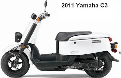 2011 Yamaha C3 - 50cc Scooter
