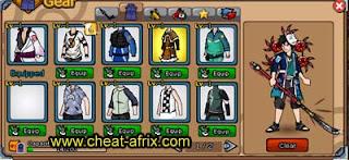 Jual Char Emblem Usher Full Gear + Pet Kyubi