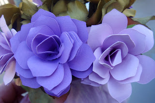 etsy blog, paper flowers, sweet pea paper flowers, wedding flowers