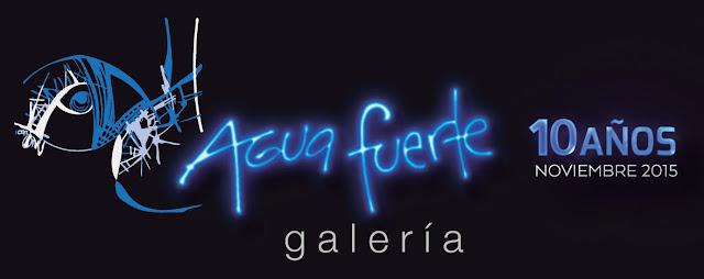 Aguafuerte Galería celebra 10 años con diferentes actividades durante Noviembre