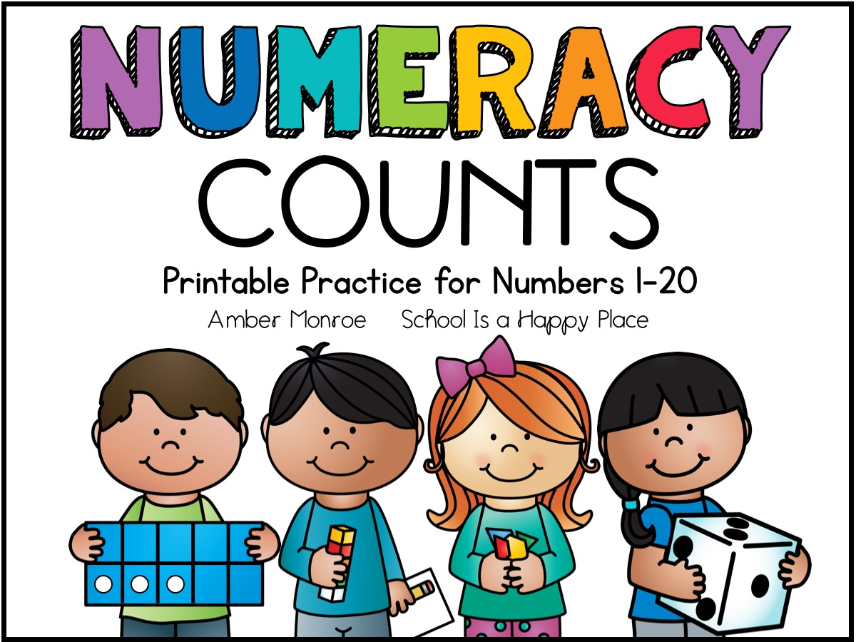Numeracy Practice for Numbers 1-20