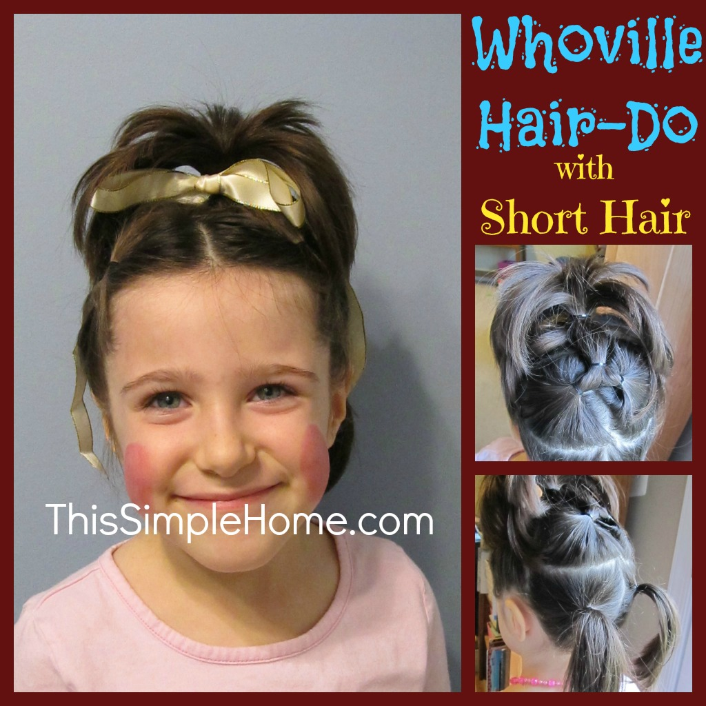 Whoville Hairdos This simple home: whoville hair and other favorites