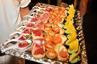 Los asistentes pudieron disfrutar de un espectacular catering