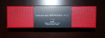 hakuho-do + SEPHORA Kusabi Wedge Sloping Powder Brush