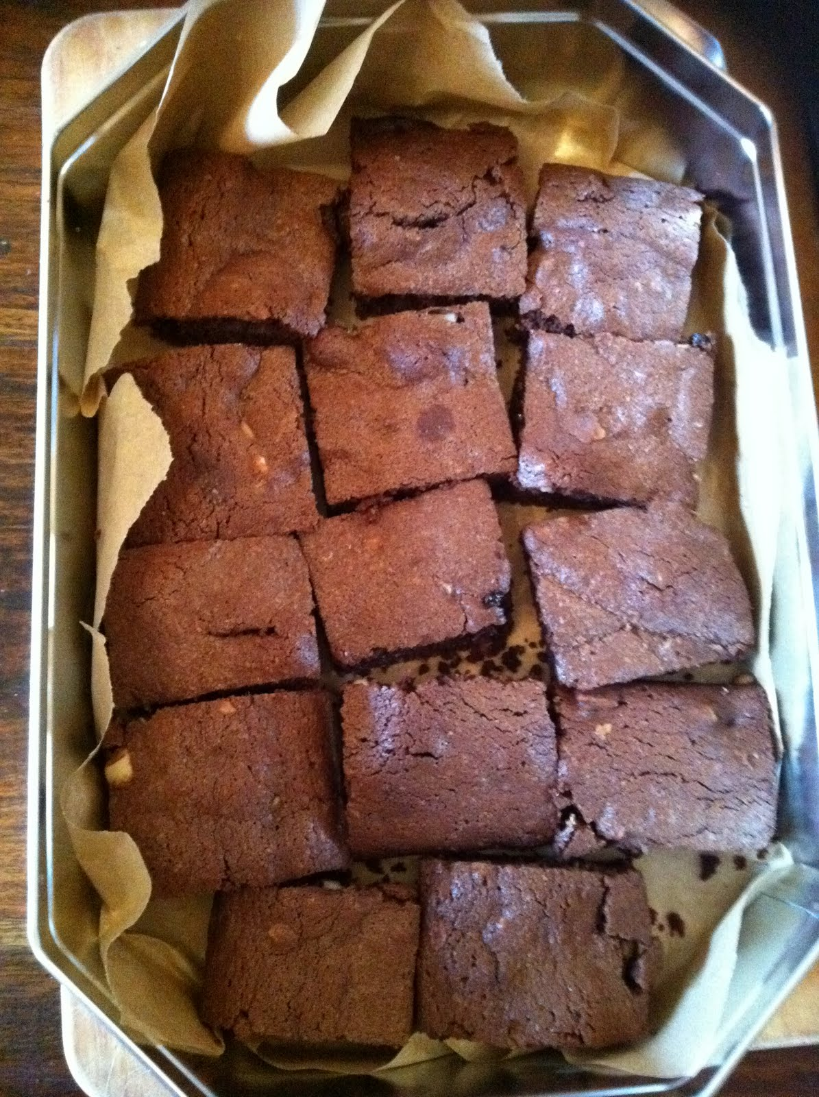 Mix it Cook it: Chocolate Orange Brownies With Macadamia Nuts