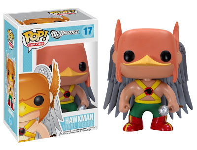 DC Universe Pop! Heroes Wave 3 by Funko - Hawkman Vinyl Figure