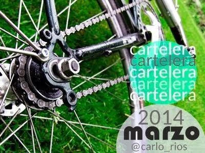 Cartelera/Eventos Marzo 2014
