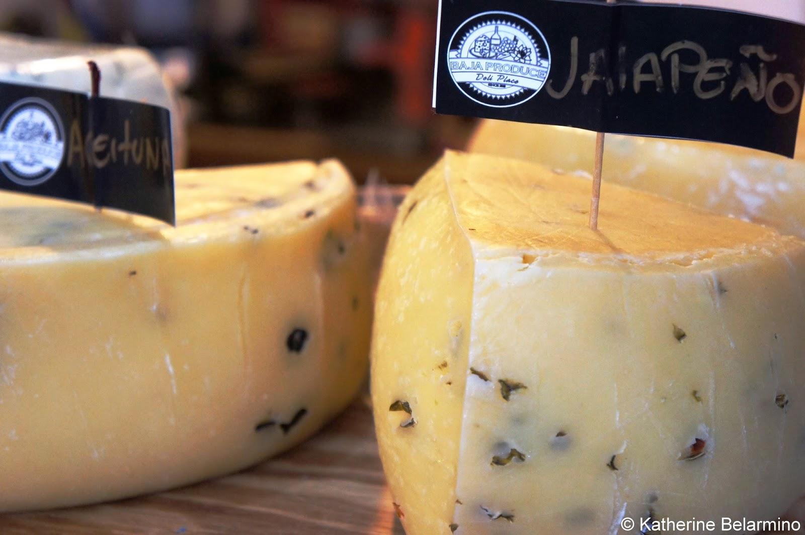 Baja Produce Cheese Rosarito Baja California Mexico