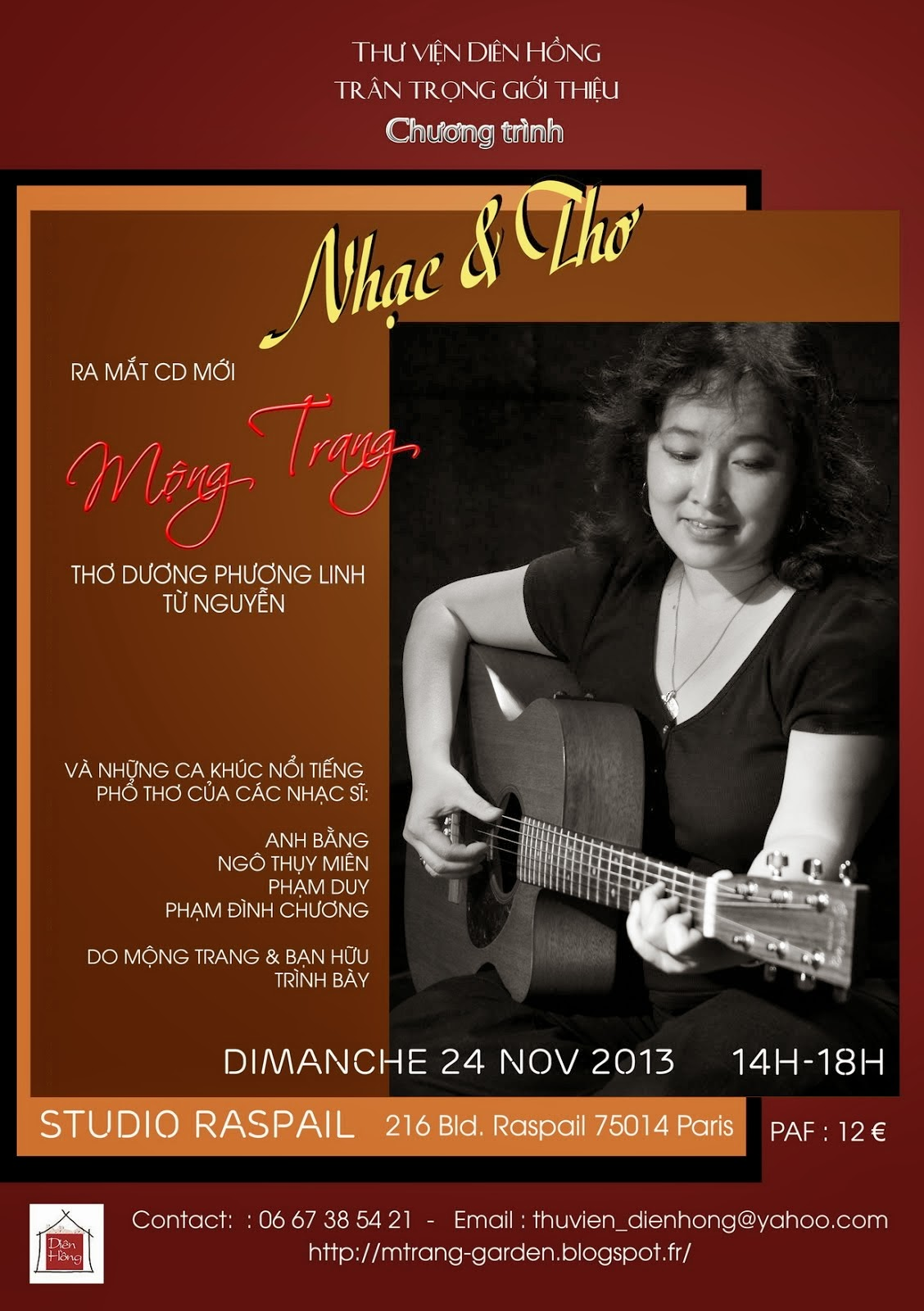 MT Concert 24/11/2013