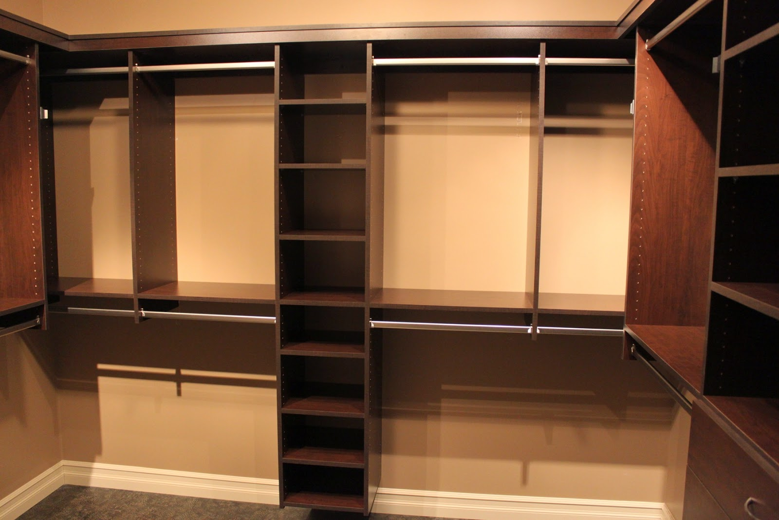 Creating a Non Walk In Master Bedroom Closet. CAD INTERIORS   Affordable stylish interiors