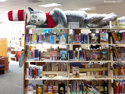 The Cat in the Hat at the Library