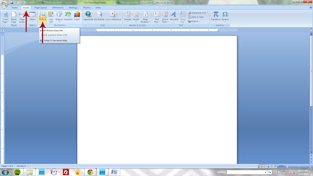 how to open a png file in word