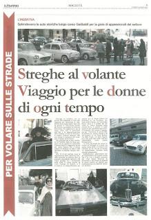 STREGHE AL VOLANTE 2013 - IL SANNIO