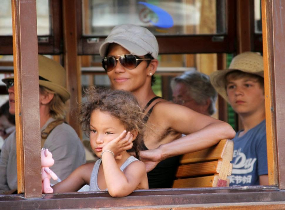Halle Berry posed for the cameras while attending the Stand Up for ...