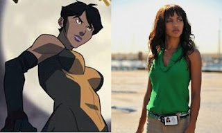 Megalyn Echikunwoka voicing Vixen