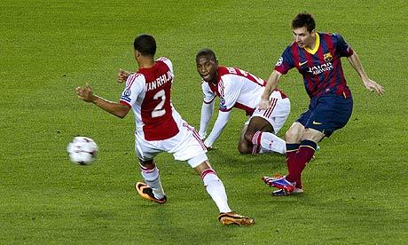 Video / Barcelona 4 0 Ajax. Milan 2 Celtic 0